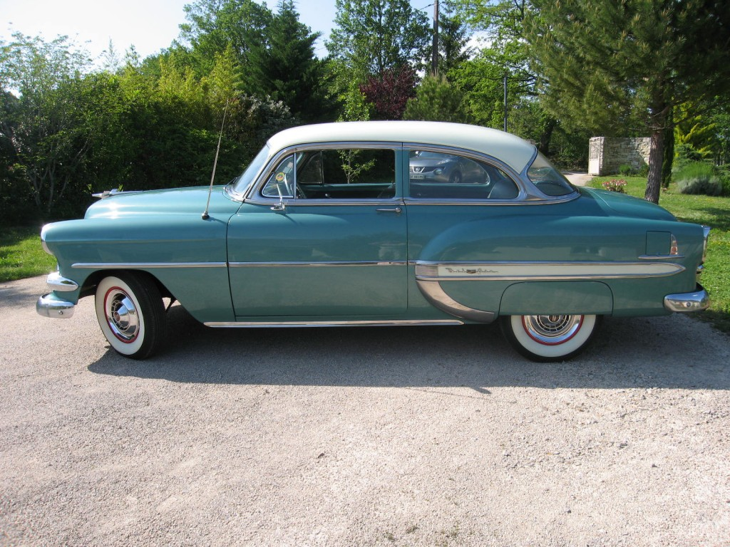Chevrolet bel air coup 1954 chevrolet bel air de 1954 prix 20850 - Vente privee bel air ...