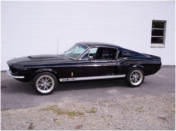 ford mustang fastback 1967 ford mustang fastback clone shelby gt 350 de 1967 prix 54900. Black Bedroom Furniture Sets. Home Design Ideas